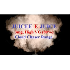 Juicee-e-Juice Cloud Chaser Menu - 3mg - 80% VG