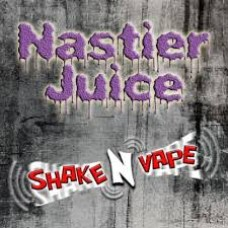 Nastier Juice Shake 'n' Vape Chaser Menu - 80% VG, 3mg -120ml
