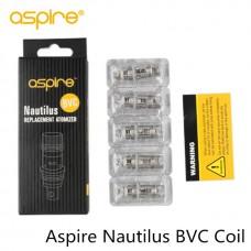 Aspire Nautilus BVC coils (Singlular or 5 Pack)