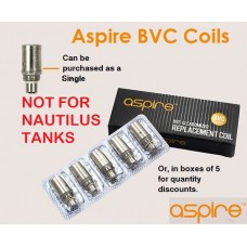 Aspire BVC Coils (Singlular or 5 Pack)