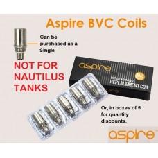 Aspire BVC Coils (Singlular or 5 Pack)