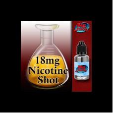 Nicotine shot - 18mg VG  - 10ml