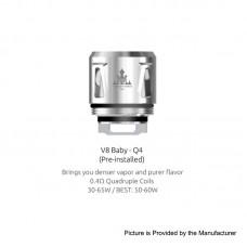 SMOK V8 Baby-Q4  (For TFV12 Baby Prince Tank) - Singular or 5 Pack